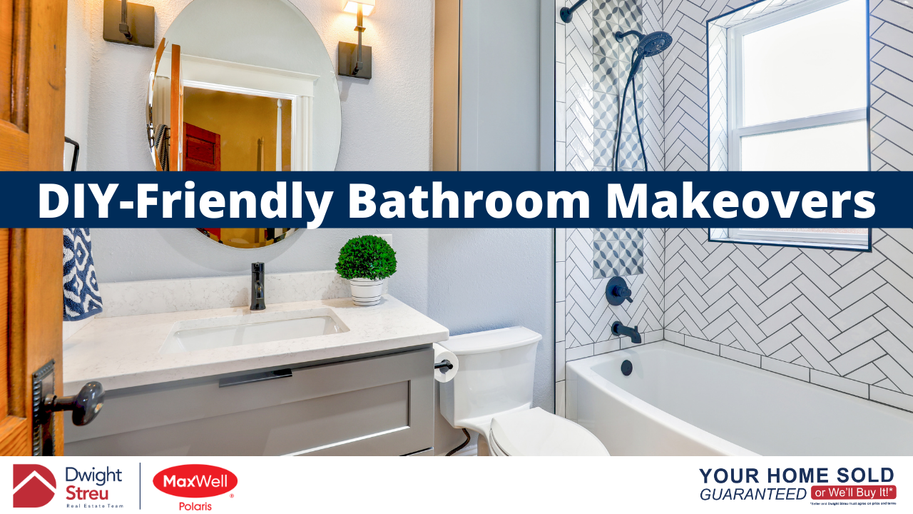 DIY-Friendly Bathroom Makeovers | Edmonton Realtor Blog | Dwight Streu